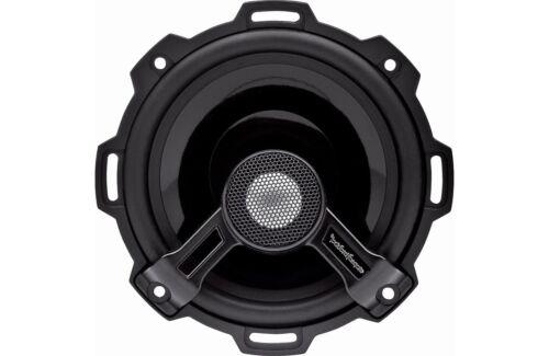 """ROCKFORD FOSGATE POWER T152  2 Way 5.25/"""" Speakers Aluminum Dome Tweeters 120 RMS"""
