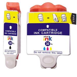 2-NO-OEM-reemplaza-para-Kodak-N-30-XL-ESP-1-2-3-2-3-2s-Cartuchos-de-tinta