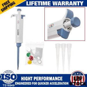 Digital-Super-Micro-Single-Channel-Adjustable-0-5-10uL-Pipet-Pipette-Pipettor-US