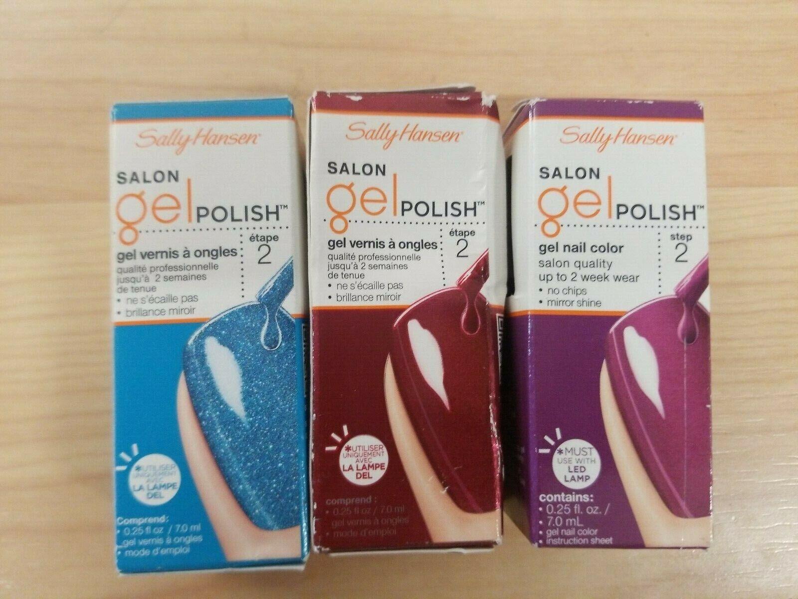 Salon Pro À Pro sally hansen salon pro gel step 2 gel polish 7 ml 0.25 oz choose color