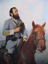 Civil War Print Tribute To The Cause Stonewall Jackson