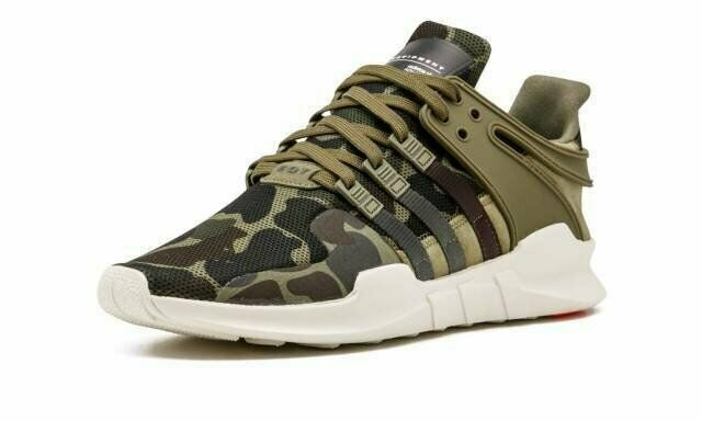 Adidas Originals EQT Support ADV Olive Cargo Urban Earth Night Camo BB1307 Green
