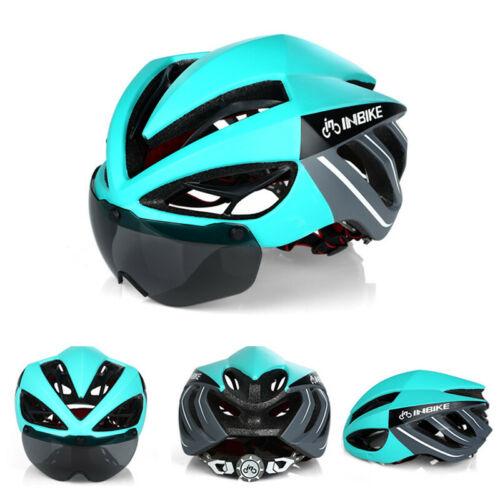 Sicherheit Fahrradhelm Driving Road MTB Fahrradhelme mit Magnet Schutzbrille