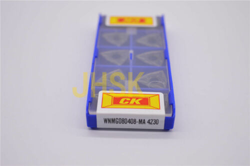 10pcs CK WNMG080408-MA 4230 WNMG432-MA For steel parts,stainless steel cast iron