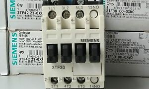1pcs Siemens 3TF48 22-0XL2 AC contactor   new in box