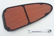 BMC IN FIBRA DI CARBONIO FORMULA 1 Lavabile Cotone pannello filtro aria Marussia F1 parte