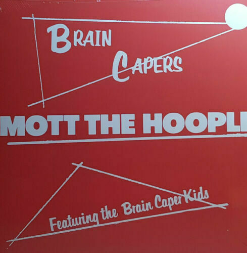 MOTT THE HOOPLE BRAIN CAPERS NEW SEALED VINYL REISSUE