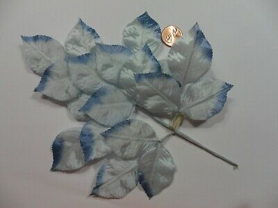 Vintage Milinary Satin Single Leaves Made in Japan