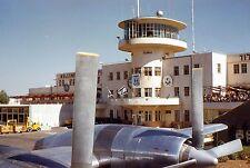 35mm Slide Lod Airport Israel Tel Aviv Ben Gurion 1959 Kodachrome
