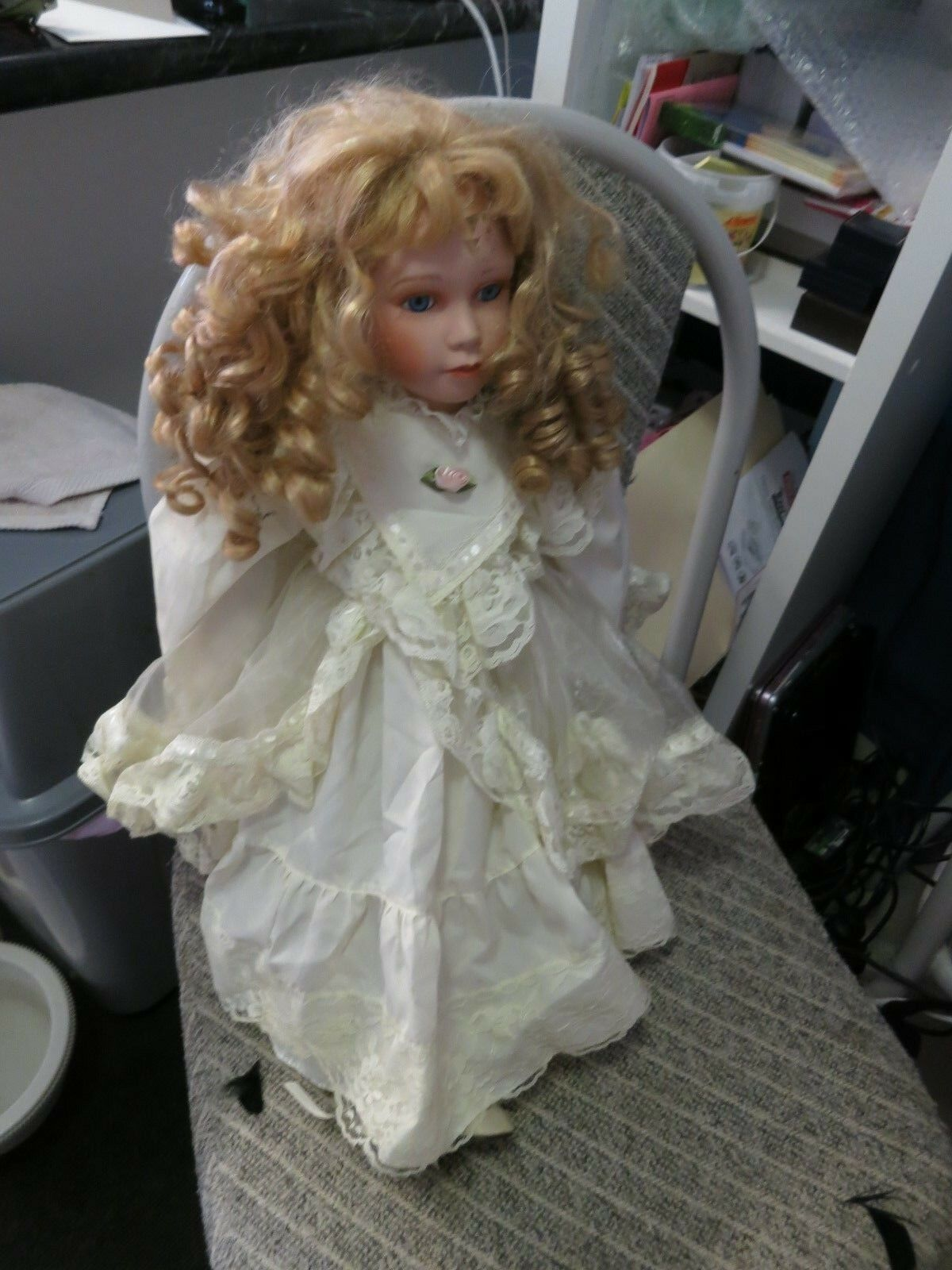 VINTAGE/ANTIQUE  DOLL APPROX 45 YEARS OLD FLORENCE 59/1200 PRODUCED QUITE PRETTY