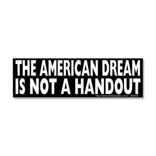 399395728 CafePress The American Dream V2 Car Magnet