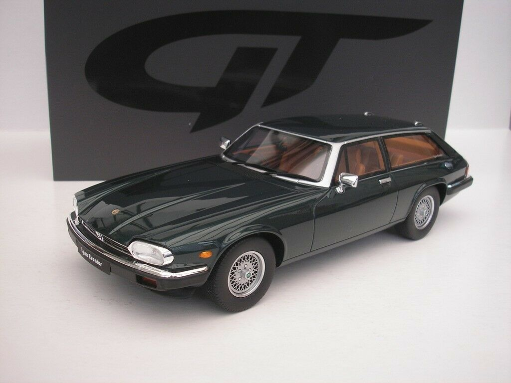 Jaguar Xjs Lynx Eventer 1983 Green Metallic 1 18 Gt Spirit GT216 New