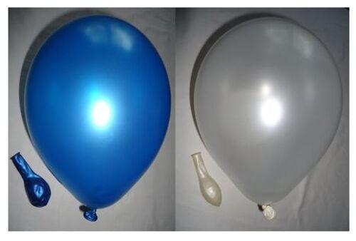 100 Metallic ballons 2 Couleurs Libre Au Choix par 50 pièce qualité ballons ue