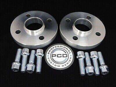 30mm de ancho 57.1CB 10 Pernos De Rueda VW AUDI UK Made 2 par Separadores Hubcentric 5x112