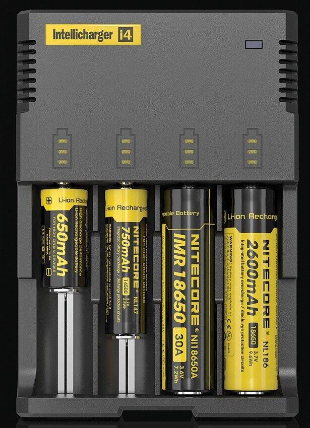 Nitecore Nitecore Nitecore NCI4 carica batterie caricatore per batterie Intellicharger Battery 1c4dc9