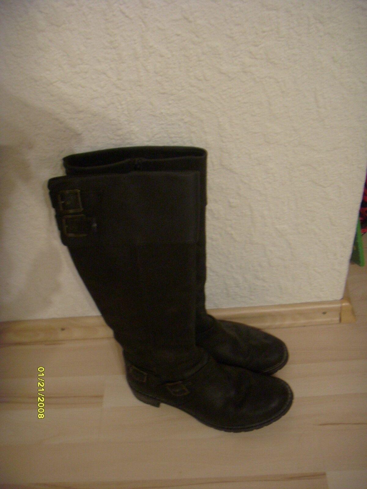 Supertolle schwarze Stiefel von Clarks sehr wenig getragen, wie neu