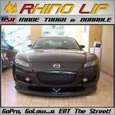 Mazda RX Coupe Sport Race Universal Rubber Flex Front Chin Lip Spoiler Splitter