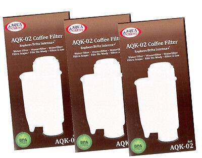 5x AQK-02 passend für Saeco Phillips Kaffeemaschinen