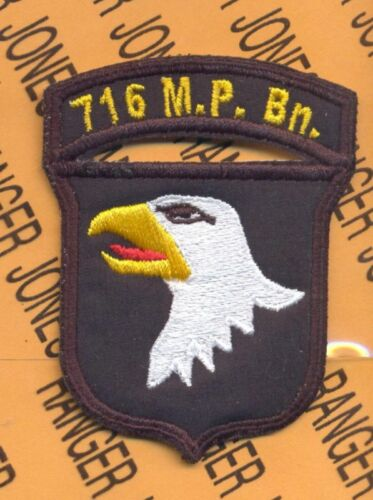AASLT patch 716th MP Bn Police 101st Airborne Div