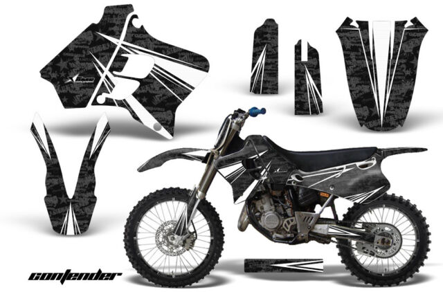 Graphic Kit Decal Sticker Wrap + # Plates For Yamaha YZ125 YZ250 93-95 CONT W K