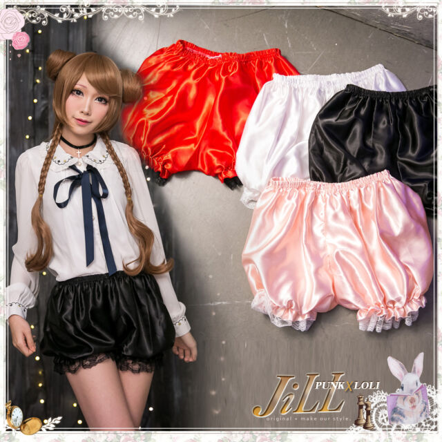 LISA lolita fairy kei infant Comet Star intimate glossy bloomer shorts J2I2008