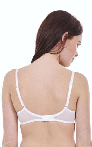 Mesdames rembourré armatures T shirt bra pour femme blanc noir marron bretelles réglables