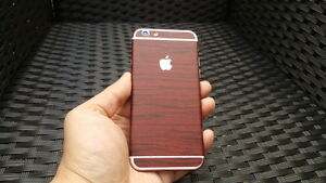 For-Apple-iPhone-Skin-Case-Wrap-Sticker-Decal-Textured-Cover-Wood-Grian-Effect