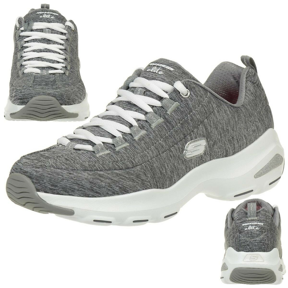 Skechers d d d 'Lite ultra-meditative Zapatos señora air cooled memory foam Gry  lo último