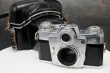 - Zeiss Ikon Contarex Bullseye 35mm Camera Body