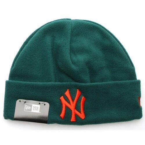 New Era Cap Co Winter Utility Micro Fleece Knit Beanie NY Yankees