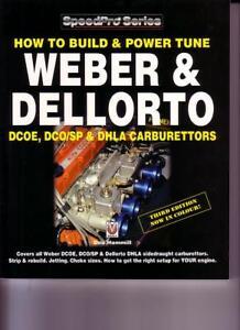 weber dellorto carburettor how to build book power tune dcoe dhla rh ebay co uk Renault Clio Vauxhall Astra