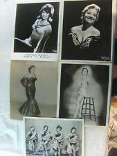 Lot of 5 Vintage Photos Pretty Show Girls in Dancing Costumes 782555