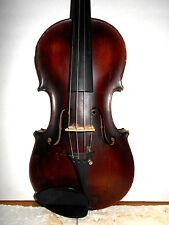 "Vintage Old Antique ""Steiner"" 2 Pc Curly Maple Back Full Size Violin"