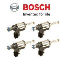 NEW Mini Cooper S Countryman Paceman JCW Set of Four Fuel Injectors OEM Bosch