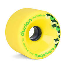 Orangatang Durian 75mm 86A yellow Freeride Longboard Rollen - Slidewheels