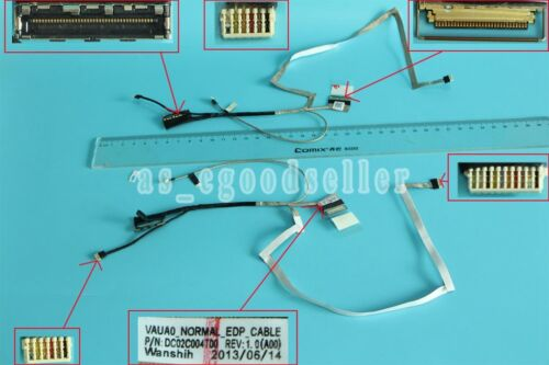 LCD Video Cable For Dell Latitude E7440 7440 EDP High DC02C004T00 VAUA0 0D3M6R