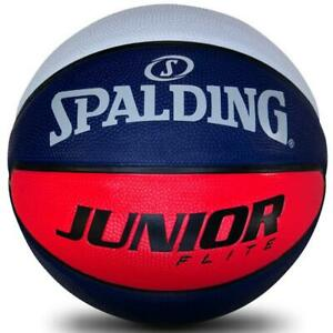 Junior-Flight-Rubber-Basketball-Size-4-Outdoor-Ball-From-Spalding