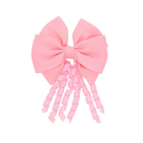 Girls Headwear Bow Barrettes Kids Hairpins Baby Headdress Hair Clips Accessories