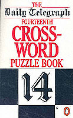 """1 of 1 - """"Daily Telegraph"""" Crossword Puzzle Book: No. 14 (Penguin crossword puzzles), , V"""