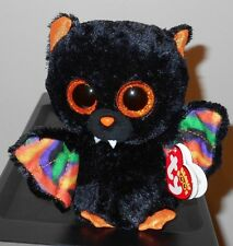 "2014 Ty Beanie Boos Scarem The 6"" Halloween Vampire Bat With Tag"