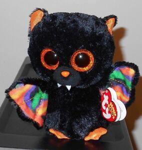 1ba1c1b7765 Ty Beanie Boos ~ SCAREM the Halloween Bat (6 Inch) NEW MWMT ...