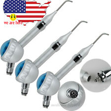 3x Dental Hygiene Prophy Jet Air Polisher Tooth Teeth Polishing Handpiece 4 Hole
