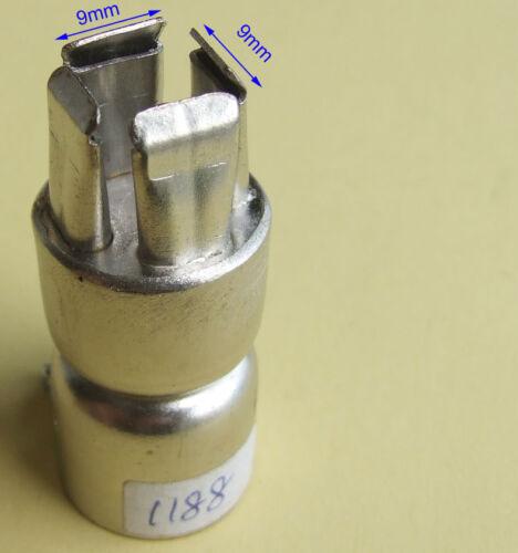 for 852 850D Soldering station Hot Air Gun BGA Nozzle Tips 9mm x 9mm A1188B
