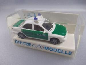 2019 Nouveau Style Rietze: Police-voiture Nº 50550 Ford Mondeo Ghia (gk6)-afficher Le Titre D'origine