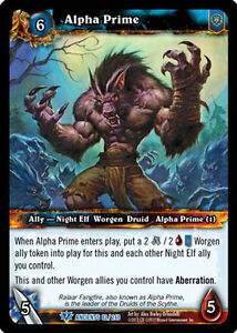 wow warcraft tcg war of ancients alpha prime x 4 ebay