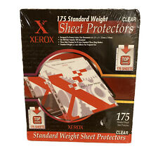 Xerox Top Loading Sheet Protectors Standard Weight Clear 175 Pack