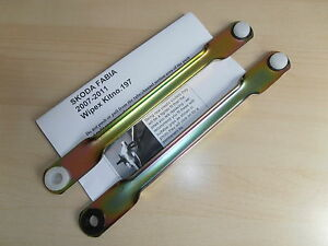 SKODA-FABIA-WIPER-MOTOR-LINKAGE-PUSH-RODS-2007-2017-WIPEX-Kit-No197-and-198