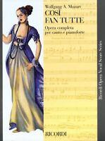 Cosi Fan Tutte K. 588 Vocal Score 050486284