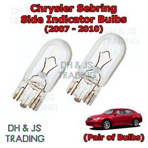 Image Is Loading Chrysler Sebring Side Indicator Bulbs Pair Of