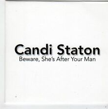 (FF882) Candi Staton, Beware, She's After Your Man - 2014 DJ CD
